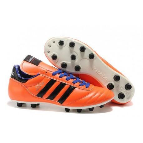 Chaussures Football Copa Mundial Pas Cher Orange Violet Noir