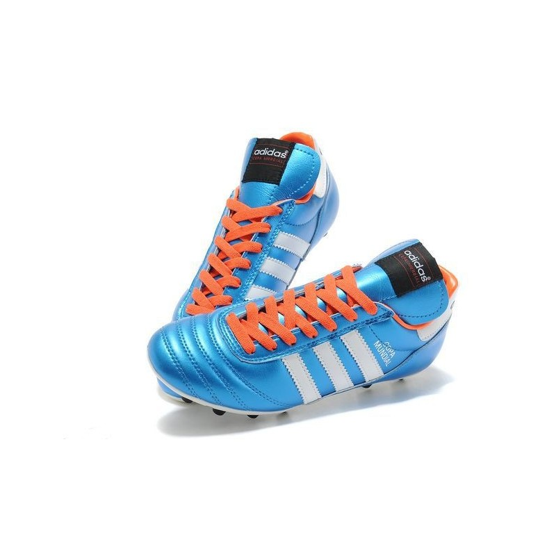 the best attitude e17ef 6a6c8 Football Copa Crampons Blanc Orange Mundial 2015 Chaussures Bleu Adidas  7q4w4O
