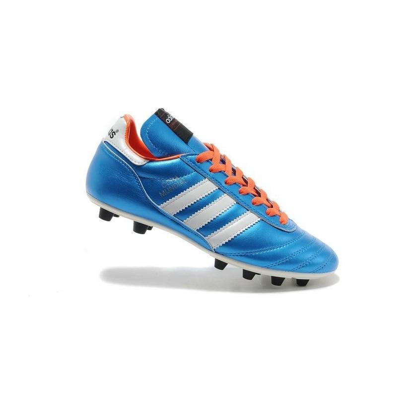official photos ac6ef d76d0 Adidas Football Copa Orange Crampons 2015 Chaussures Mundial Bleu Blanc  q6E75qIwFZ