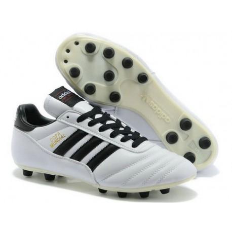 2015 Chaussures Football Copa Mundial Adidas Crampons Blanc Noir