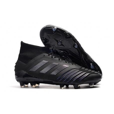 Nouveau Chaussures De Football Adidas Predator 19.1 FG Noir