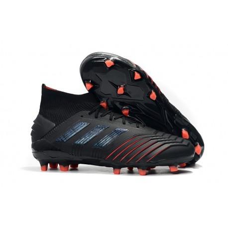 Nouveau Chaussures De Football Adidas Predator 19.1 FG Archetic Noir