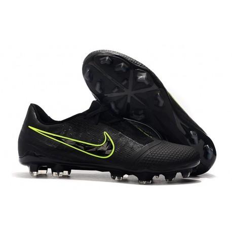 Chaussure de Foot Nike Phantom Venom Elite FG Noir Volt