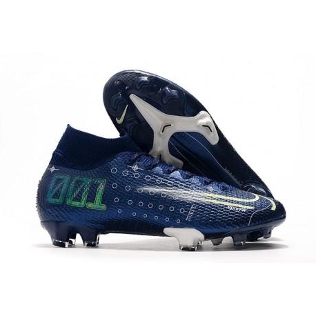 Chaussure Nike Dream Speed Mercurial Superfly VII Elite FG Bleu