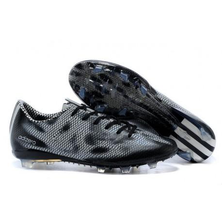 reputable site ddd5a 85cb4 Nouvelle Chaussure de Foot F50 Messi Adizero Trx FG Noir Blanc