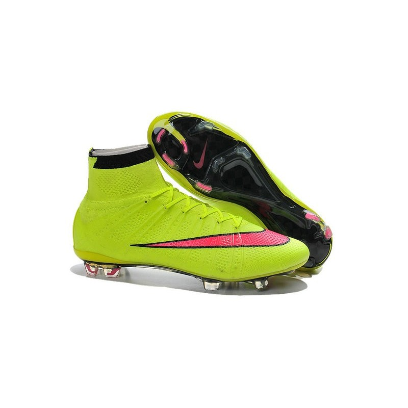 nouveau style 5aef2 eef39 Chaussures Nike Mercurial Superfly FG Hommes - Volt Hyper ...