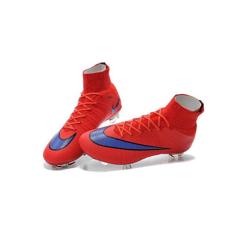 chaussures pas cher nike mercurial superfly fg rouge vif violet persan noir. Black Bedroom Furniture Sets. Home Design Ideas
