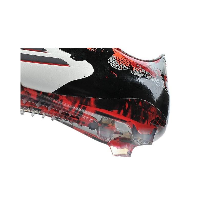the latest a7162 03709 Nouvelle Chaussure de Foot F50 Messi Adizero Trx FG Pibe De Barr 10 10.1  Rouge Blanc Zoom. Précédent. Suivant