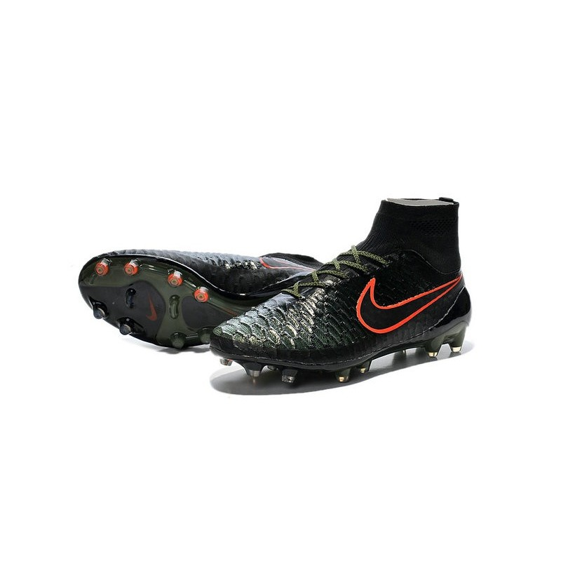 2015 chaussures football magista obra fg pas cher noir vert hyper rouge. Black Bedroom Furniture Sets. Home Design Ideas