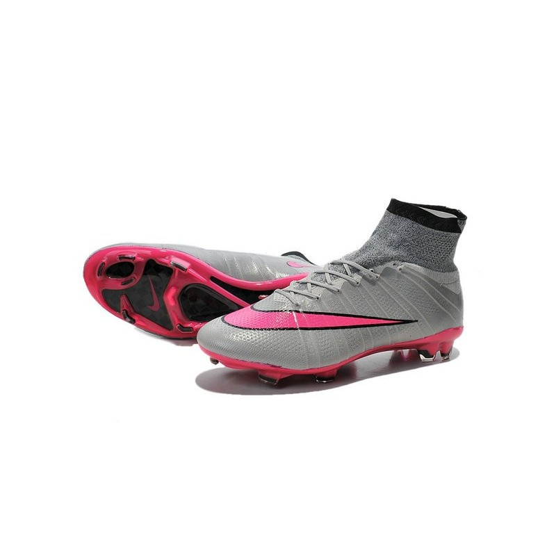 nike mercurial superfly fg rose pas cher