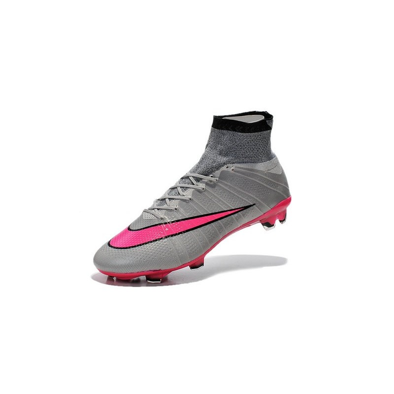 magasin en ligne 30b8b 29fbf Chaussures Pas Cher Nike Mercurial Superfly FG - Gris Hyper ...