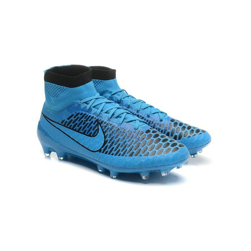 2015 chaussures football magista obra fg pas cher noir bleu. Black Bedroom Furniture Sets. Home Design Ideas