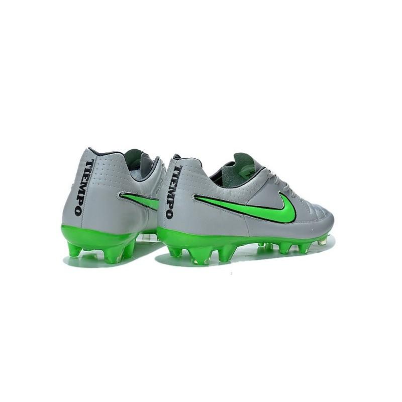 promo code 7ddd2 47507 ... chaussure de football nike tiempo legend fg gris loup vert noir