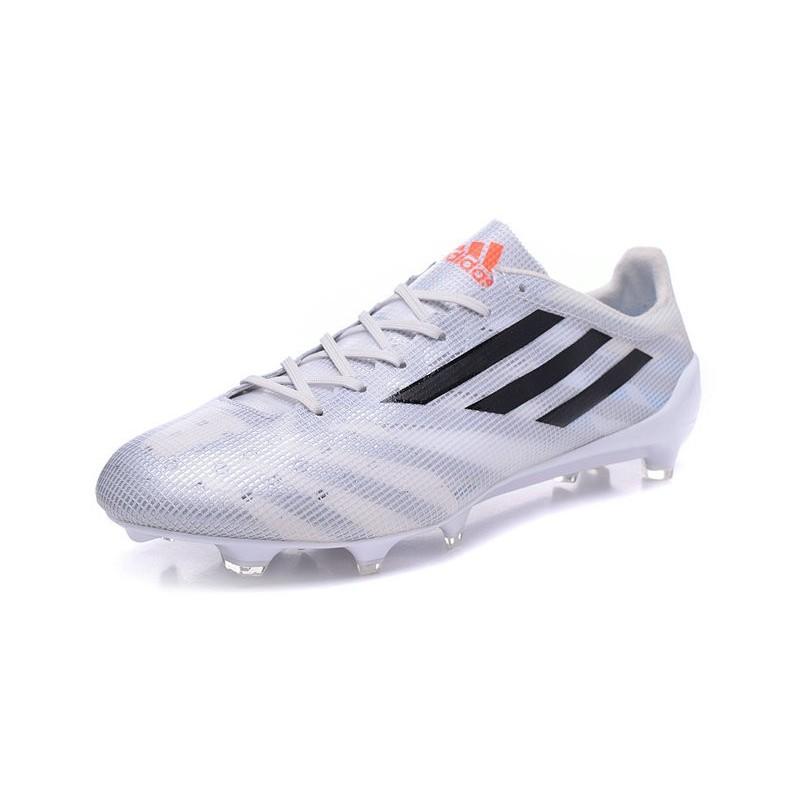 huge selection of 5b327 66f31 Chaussure de Foot Hommes F50 Messi Adizero Trx FG Blanc Noir