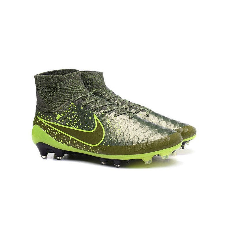 2015 chaussures football magista obra fg pas cher power clash noir vert. Black Bedroom Furniture Sets. Home Design Ideas