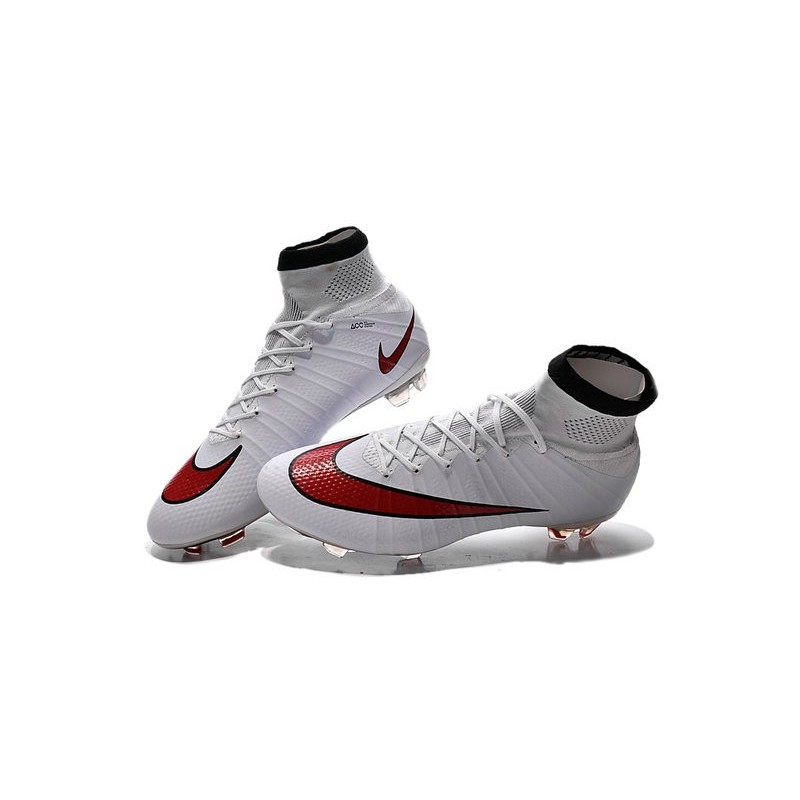 wholesale outlet newest collection reputable site Nouveau Crampons Foot Nike Mercurial Superfly FG - Blanc ...