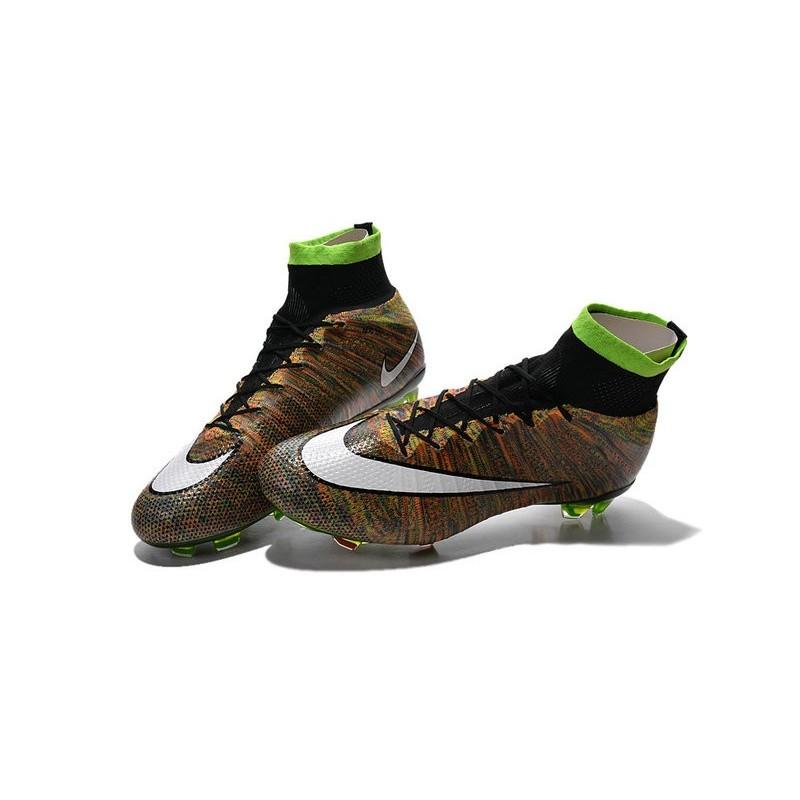 Vert Foot Nouveau Noir Crampons Blanc Superfly Nike Fg Mercurial OPXn0w8k