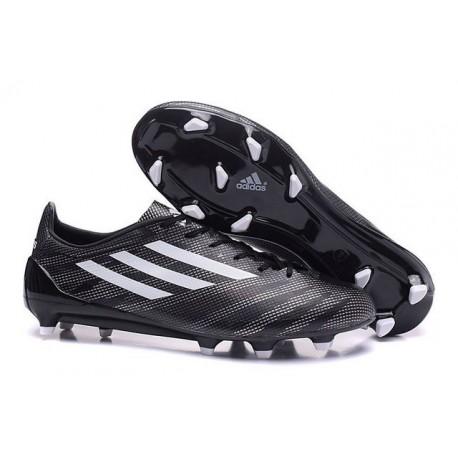 2015 Chaussure de Foot F50 Messi Adizero Trx FG Noir Blanc