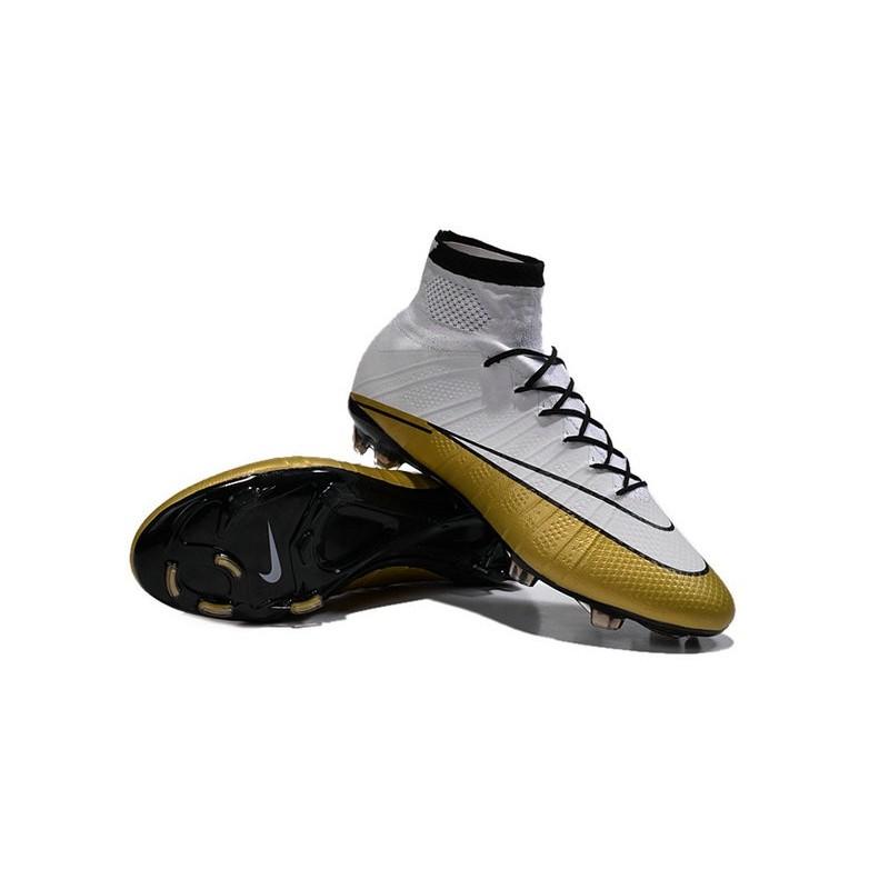 Fg Nike Chaussures 501 Mercurial Blanc Noir Superfly Or Hommes Cr 4jL5AR3