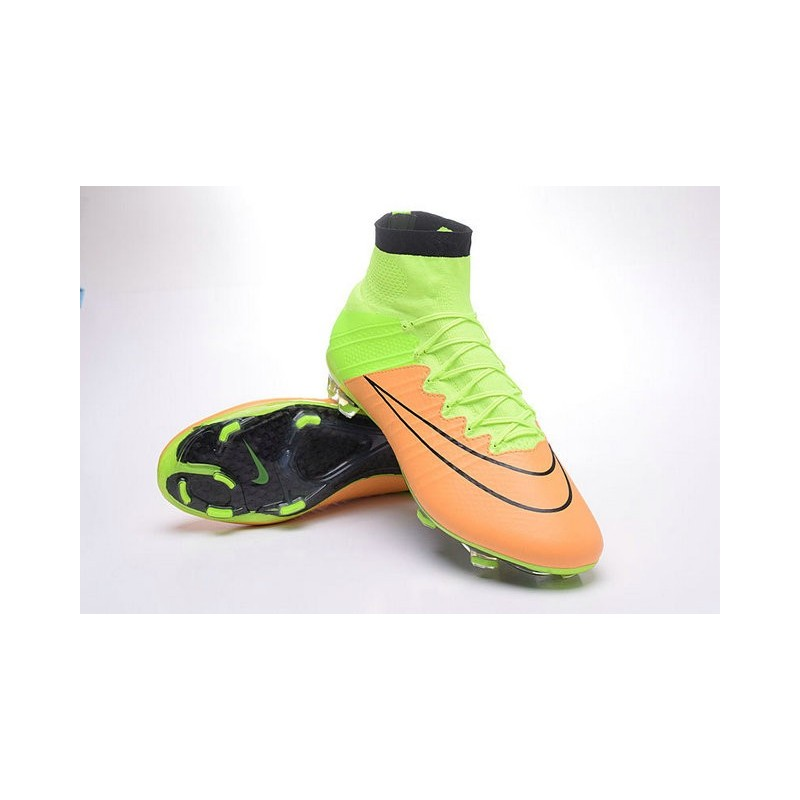 2016 Nike Chaussures De Superfly Football Cuir Fg Beige Mercurial fqwS6EB