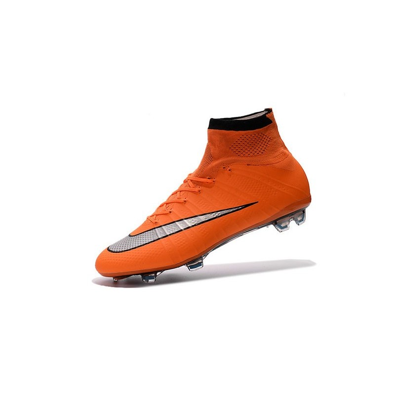 Orange Nouveau Foot Argenté Crampons Nike Mercurial Superfly Fg Noir tshQrdCx