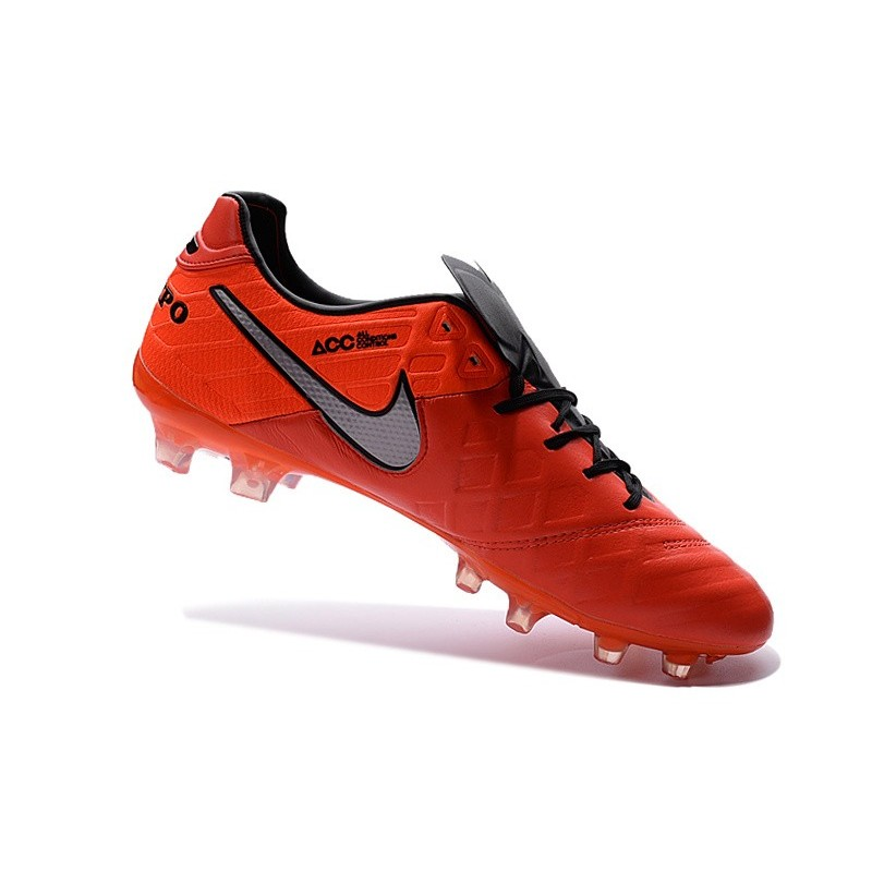 online retailer fd208 3fd63 Crampons de football Nike Tiempo Legend VI FG Hommes Orange