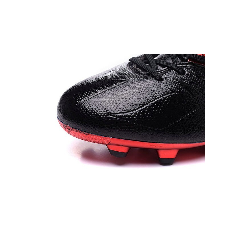 new product ed41f 57fed Chaussures foot - Adidas Messi 15.1 FG Noir Vert Rouge