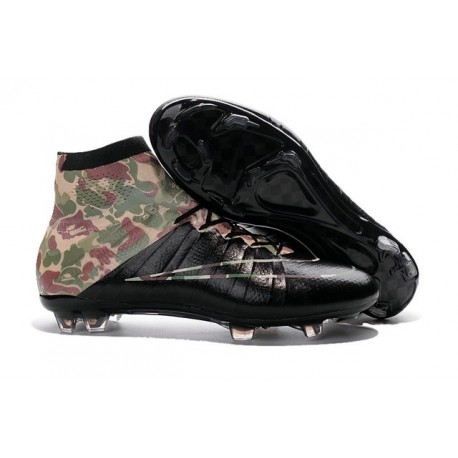 Chaussures Nike Mercurial Superfly FG Hommes - Camoufler Noir