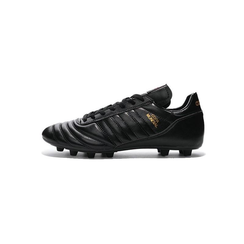 best service 626e6 fa253 Nouveau Chaussures Football Copa Mundial Noir Or