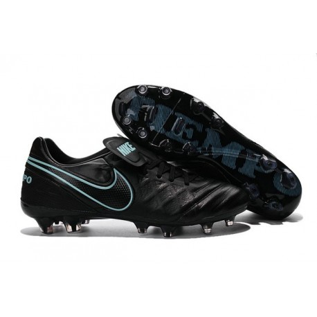 best website e87a3 2da37 Crampons de football Nike Tiempo Legend VI FG Hommes Noir Bl