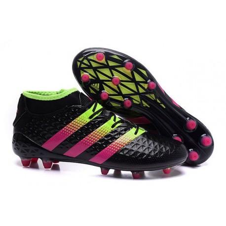 pretty nice f1347 607c5 Nouvelles Crampons Foot Adidas Ace16.1 Premiknit FGAG Noir R
