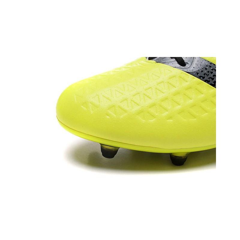 Crampons Nouvelles Ace16 Jaune Premiknit 1 Noir Foot Adidas Fgag g7fyb6