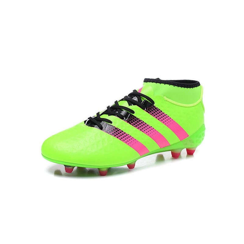 official photos 865aa 25a30 Nouvelles Crampons Foot Adidas Ace16.1 Premiknit FGAG Vert R
