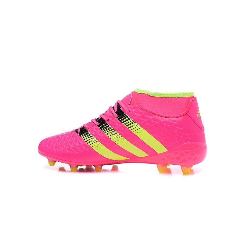 Fgag 1 Rose Ace16 Premiknit Jaune Foot Noir Crampons Adidas Nouvelles vwxBP4YqF
