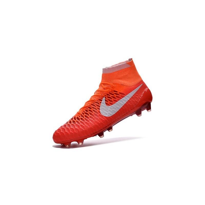 Terrain Sec Orange Football Obra Magista Blanc Chaussures Fg n0XwP8Ok