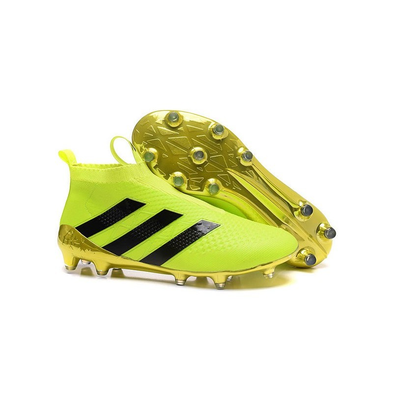 Ace16Purecontrol Noir Foot Or Volt Fgag Crampons Adidas 2016 kXPZui