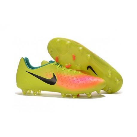 separation shoes 6c3b1 eb8b0 Chaussures De Foot Hommes - Nike Magista Opus II Fg Volt Noi