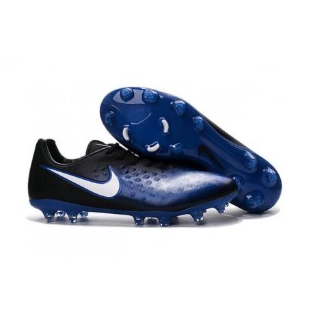 new styles e722e 78095 Chaussures De Football - Nike Magista Opus II FG - Bleu Noir