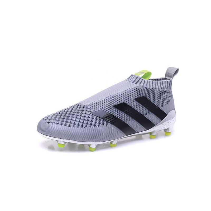 new arrival effb3 21d66 2016 Crampons Foot Adidas Ace16+ Purecontrol FGAG Argenté No