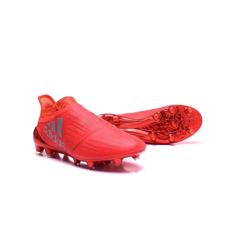 size 40 f5a24 360f7 Nouveau X Rouge Fg Adidas Argent Purechaos 16 Crampons PrqPwE6