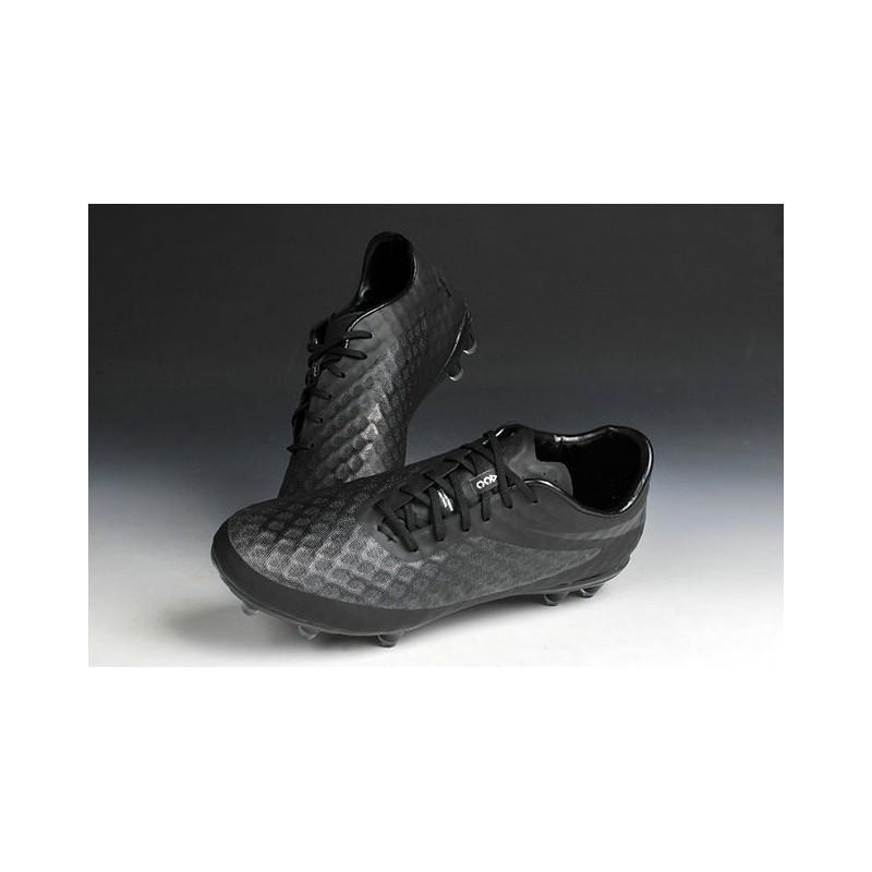 nike hypervenom phantom chaussures de football tout noir. Black Bedroom Furniture Sets. Home Design Ideas