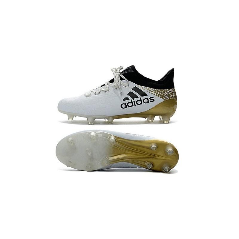 Foot Nouveau 16 Blanc 1 Agfg Crampons Adidas Or X Noir O80nkwP