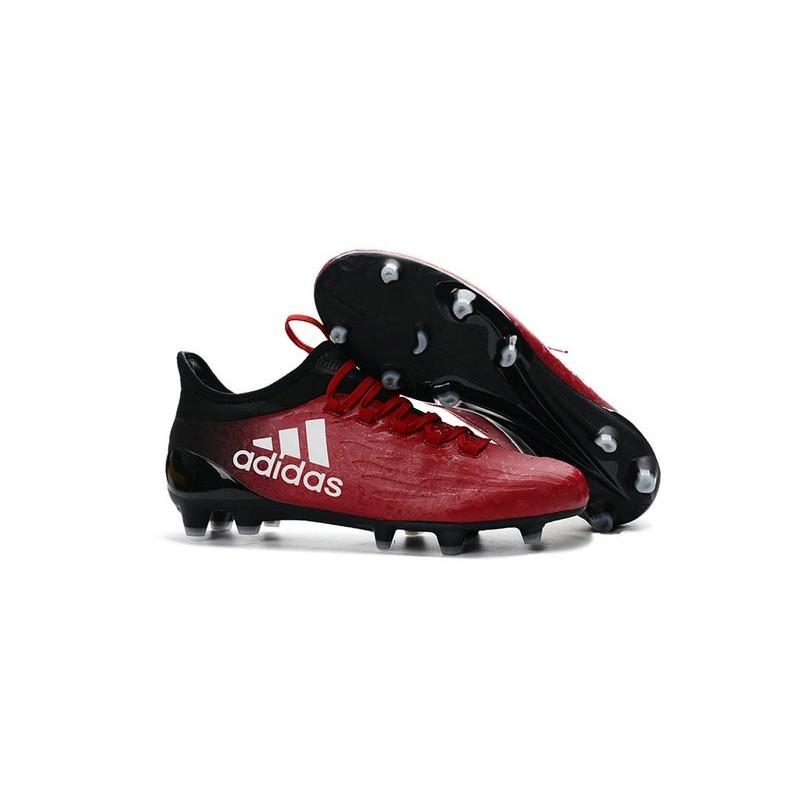 sports shoes 1dedd 0b7b2 Chaussures de football Adidas X 16.1 AGFG Pas Cher Rouge Blanc Noir Zoom.  Précédent. Suivant
