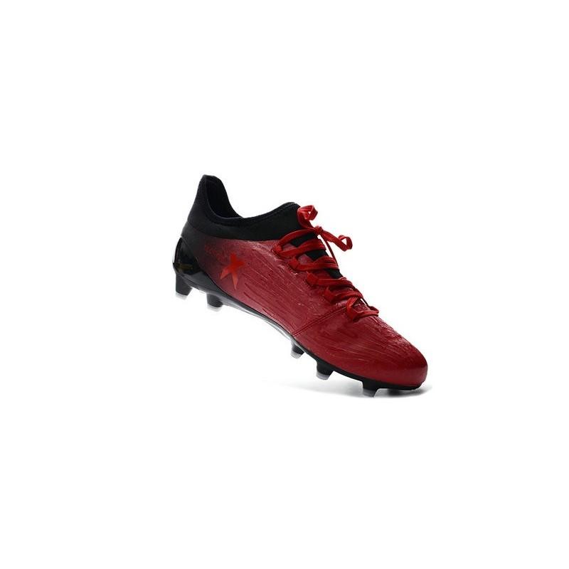 new style e7372 4eb7e Chaussures de football Adidas X 16.1 AG FG Pas Cher Rouge Blanc Noir Zoom.  Précédent. Suivant