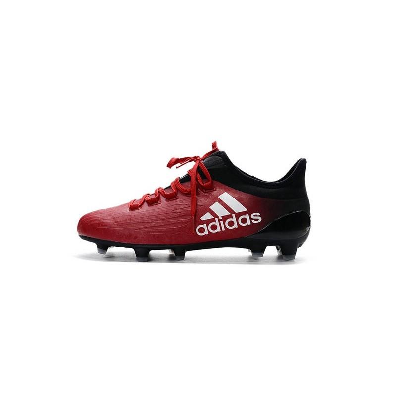 sports shoes 46d02 2b78b Chaussures de football Adidas X 16.1 AGFG Pas Cher Rouge Blanc Noir Zoom.  Précédent. Suivant