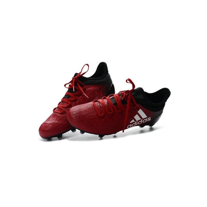 promo code c4a22 820b7 Chaussures de football Adidas X 16.1 AGFG Pas Cher Rouge Bla