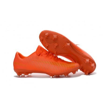 2016 Chaussures Football - Nike Mercurial Vapor XI FG Crampons Orange