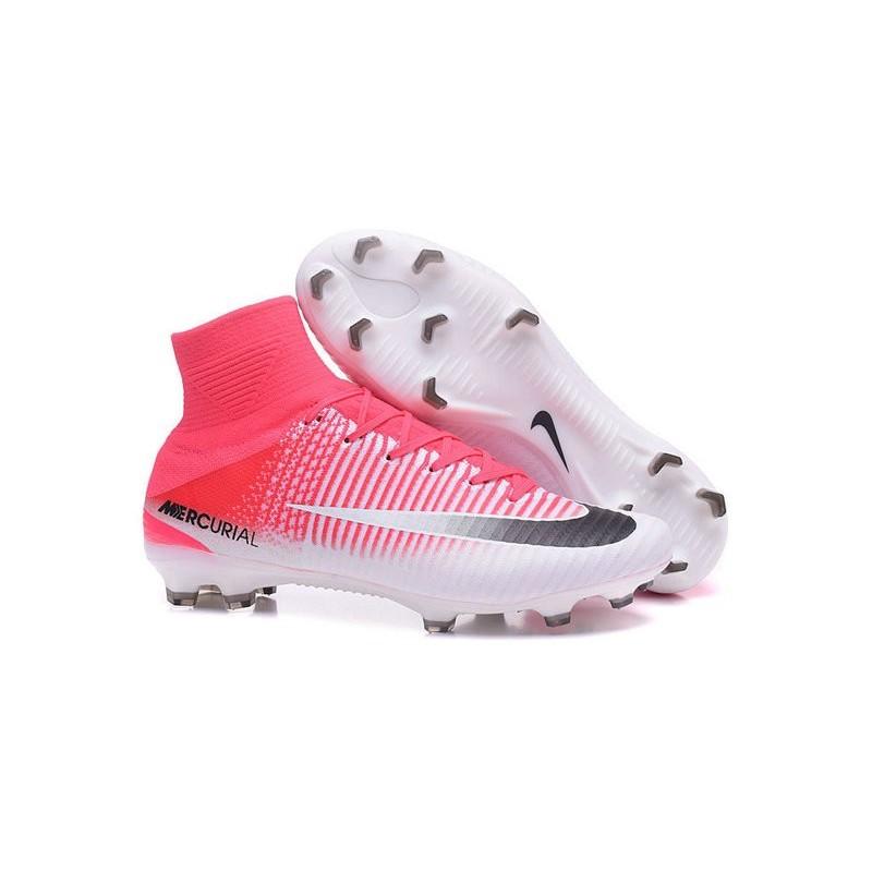 haut de gamme authentique photos officielles Nouveaux produits Chaussures de Foot Pas Cher Nike Mercurial Superfly V FG ...