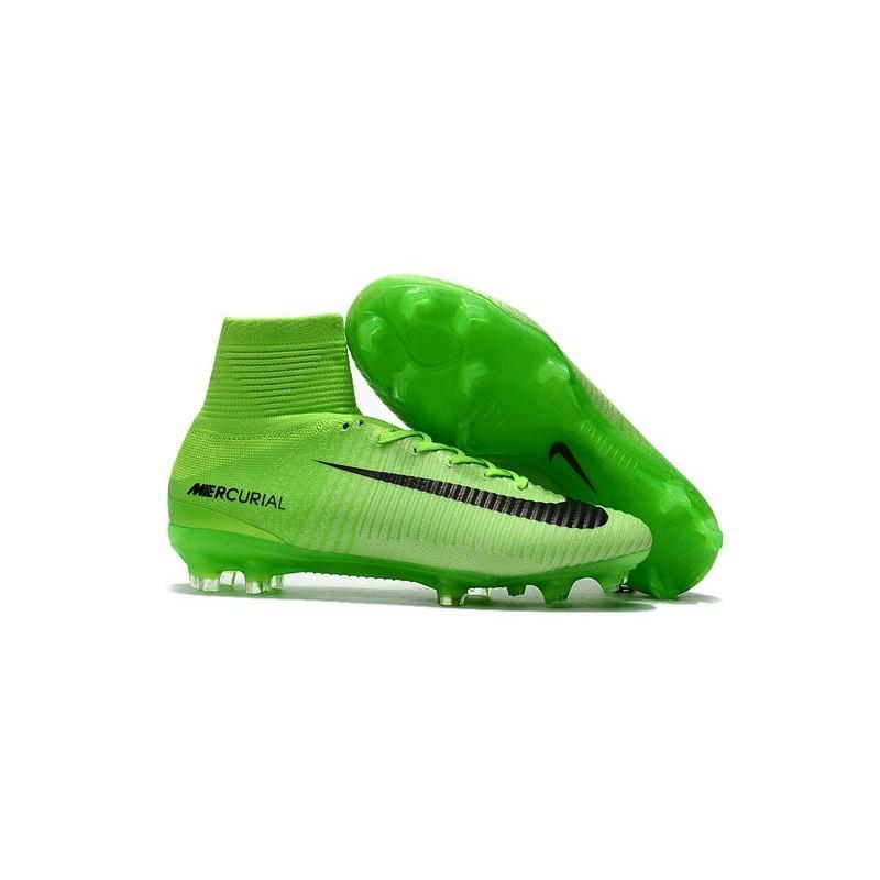 Chaussures Foot Nike Fg Cher Mercurial Superfly Vert Pas V De OZukiPX