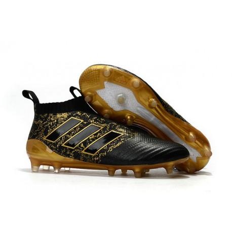 2017 Adidas ACE17+ Purecontrol FG Paul Pogba Capsule Or Noir
